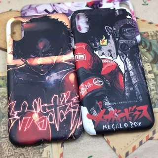 Megalo Box Phone Covers / Cases [Coloured Sides]