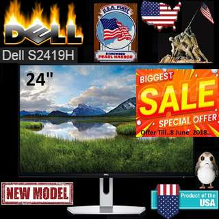 "Dell 24""  S2419H IPS Monitor with Built-In Speakers: ( 3 Years Local Warranty ) ""Hurry Grab it while Stock Last.."""