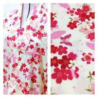Pink Sakura Butterfly Yukata