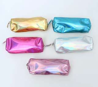 Holographic MetallicPencil Case