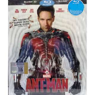 Marvel Ant-Man Blu-ray 3D + Blu-ray