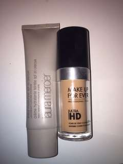 Ready 21 June - take all Laura mercier tinted moisturizer and make up forever ultra hd foundation