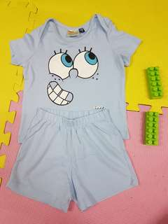 Terno spongebob for 1 year old baby