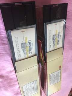 kmb 丹拿 三黃線 limited edition 單號雙連號