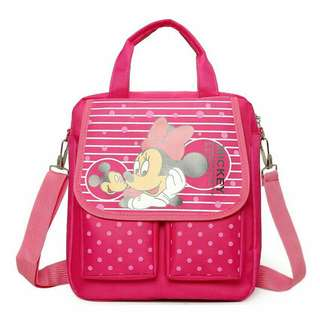 TUITION CARTOON SHOULDER BAG