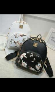 Cute flower bag pack