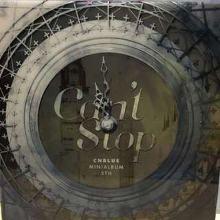 Cnblue Can't stop 碟