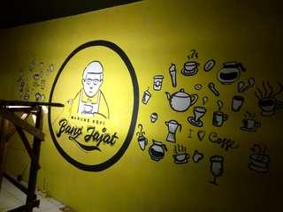 Jasa mural art
