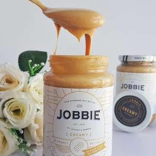 Jobbie Creamy Pure Peanut Butter No Sugar No Salt 380grams