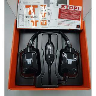 TRITTON 720+ 7.1 Surround Headset EU - BLACK                                                                                            [Up to 60% Discount]❗️LIMITED ONLY❗️