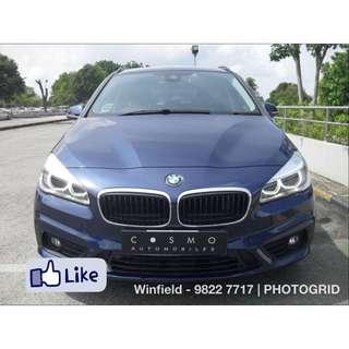 BMW 216d Active Tourer Diesel Auto
