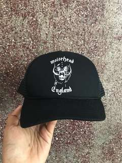 topi trucker motorhead new