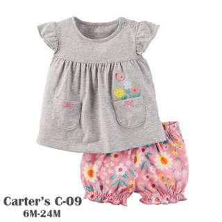 Carter's 2-Piece Babysoft girls suit