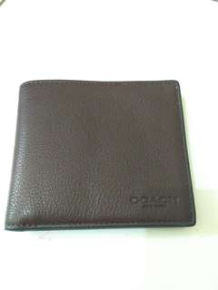 dompet coach bill sport (brown)
