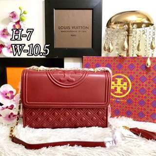 TORY BURCH FLEMING LEATHER Sling Bag