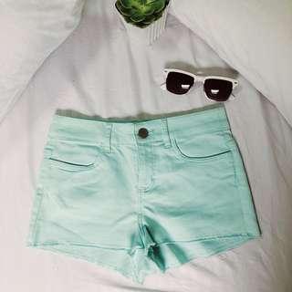 H&M Mint Green Shorts