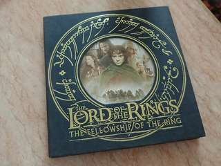 The Lord Of The Rings 魔戒首部曲 vcd