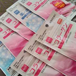 Daiso Collagen & Daiso Beauty White