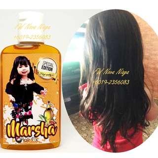 Marsha Hair Fix Special Edition 100ml -  Rambut lebih cepat panjang 100% selamat