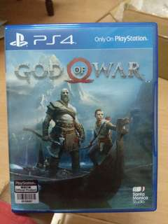 Ps4 Game - God of War 4