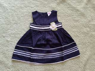 Girl Navy Dress