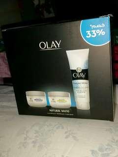 OLAY Natural White - Face Wash, Day Cream, Night Cream