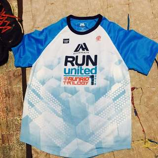 Singlet and Finisher Shirt (Run United 2016)