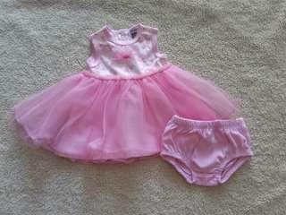 Girl Tutu Dress with panties