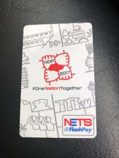 NDP 2017 Limited Edition flashpay card