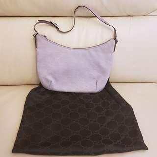 Gucci Lilac Colour GG Monogram Handbag