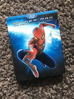 Spiderman Trilogy Blu-Ray Boxset (3 Disc)