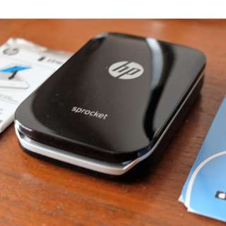 HP Sprocket Pocket Portable Mobile Printer w/ 10 Photo Papers