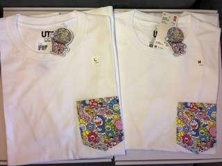 Uniqlo Doraemon T-shirt / Uniqlo 多啦A夢 叮噹 x 村上隆 T-shirt