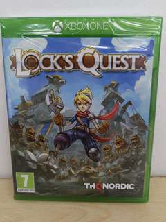 (Brand New) XBox One Lock's Quest
