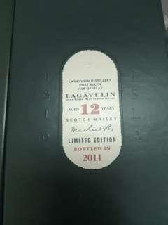 Lagavulin 12 years 2011 CS Islay Single malt whisky