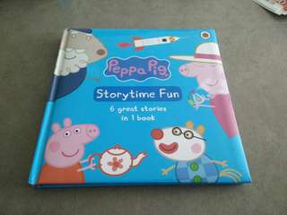 Peppa pig 6-in-1 story book (hard cover)