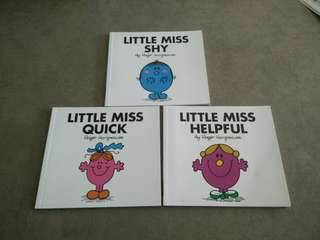 Little Miss story books