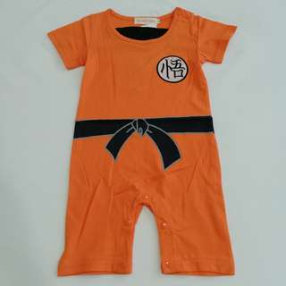 Dragon Ball Son Goku baby romper / Baju bayi Son Goku