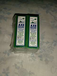 AXE Universal oil for Quick relief of cold and head ache