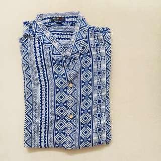 Ethnic Batik Blue