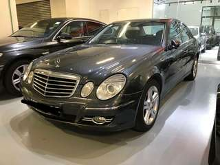 Mercedes E230 7G tronic Push start button 08/09 RM11,800 CASH