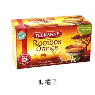 [德國] Teekanne 南非茶 4. 橘子 20包/盒