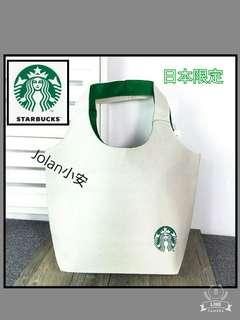 🚚 🌹日本限定款~starbucks手提購物袋