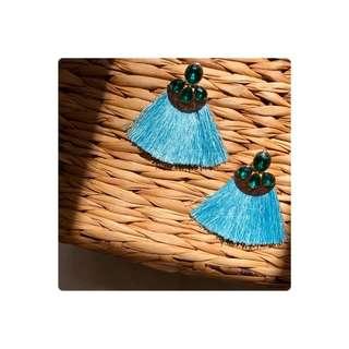 Hawaiian Blue Tassel
