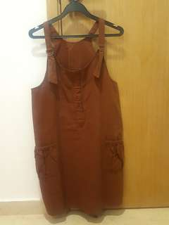 Brown comfortable one piece👚