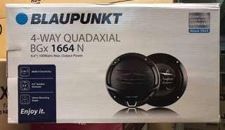 """BLAUPUNKT (6"""") 4 WAY SPEAKER"""