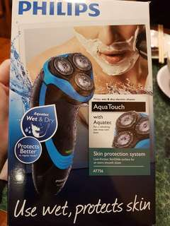 Philips Aquatec AT756 shaver