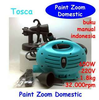 Paint zoom/paint gun/paint spray