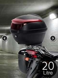 Kotak Bagasi Motosikal : Hitam