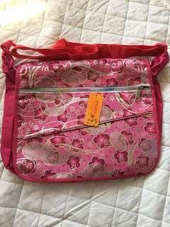 Floral shouder bag